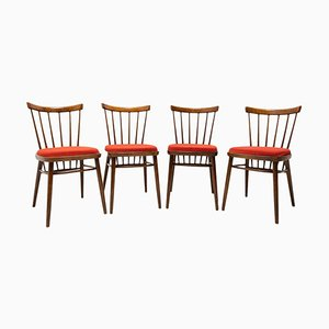 Mid-Century Dining Chairs by J. Kobylka, 1960s, Set of 4
