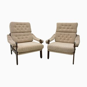 Mid-Century Scandinavian Style Armchairs, 1970s, Set of 2