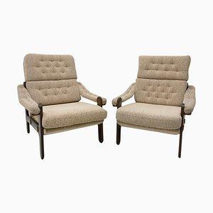 Mid-Century Sessel im Skandinavischen Stil, 1970er, 2er Set