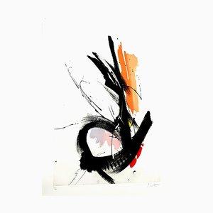 Jean Miotte, Composición abstracta, 1990, Aguatinta