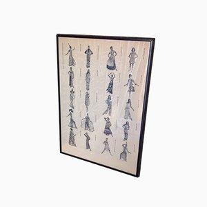 Plakat von Emilio Puccis Kollektionen
