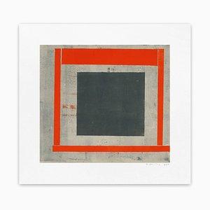 Elizabeth Gourlay, Slate Red Ash 2, 2013, Monotype en papel