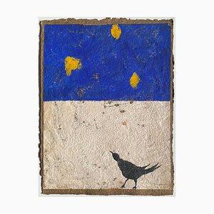 Pierre-Marie Brisson, Plein Chant III, 2004, Carborundum Grabado sobre papel Moulin De Larroque