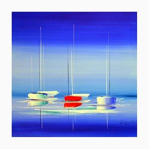 Eric Munsch, Just a Dream, 2021, óleo sobre lienzo