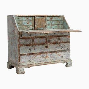 Late 18th Century Swedish Rustic Pine Writing Desk or Bureau