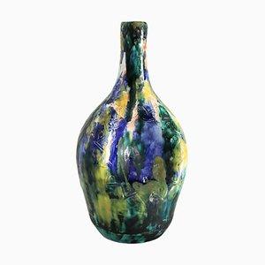 Italian Mid-Century Modern Pottery Vase by Giuseppe Barile Albisola, 1950s