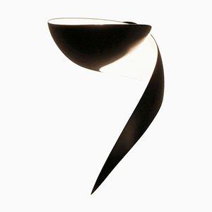 Lámpara de pared Flame negra de Serge Mouille