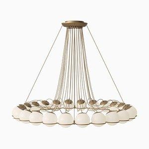 Lamp Model 2109/24/14 Champagne Structure by Gino Sarfatti