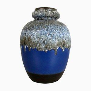 Große mehrfarbige Fat Lava 286-42 Keramikvase von Scheurich, 1970er