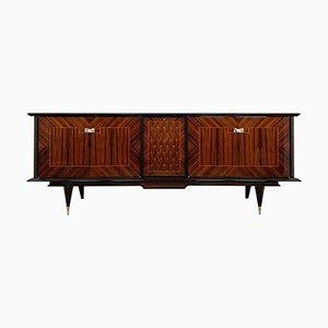 Art Deco Style Macassar Veneer Sideboard, 1950s