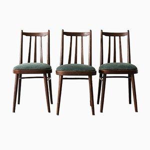 Stühle von Ligna, Tschechoslowakei, 1970er, 3er Set