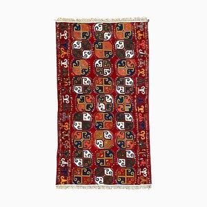 Panel uzbeko antiguo tejido y bordado