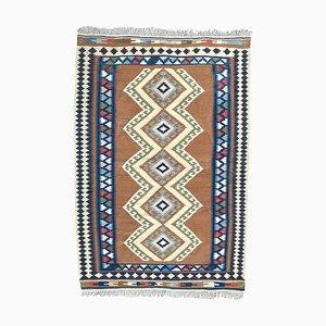 Vintage Turkish Kilim Flat Rug