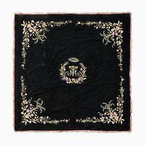 Mantel francés Napoleón III bordado