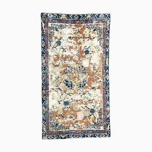 Distressed Chinese Rug