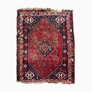 Kleiner Vintage Shiraz Teppich