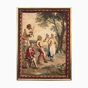 Tapiz Aubusson pequeño, siglo XVIII