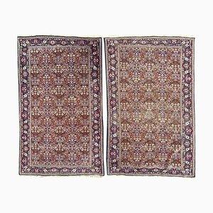 Kleine indische Punjab Teppiche, 2er Set
