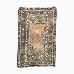 Antique Turkish Konya Prayer Rug