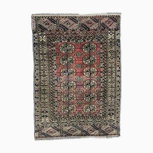 Antiker kleiner turkmenischer Boukhara Teppich