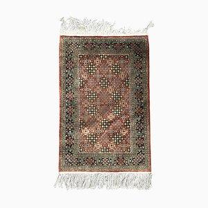 Late Vintage Vintage Teppich aus feiner chinesischer Seide