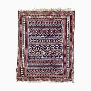 Vintage Azerbaïdjan Soukak Kelim Teppich
