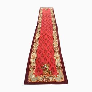 Antiker Napoleon III Aubusson Teppich