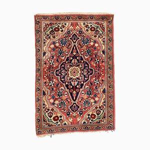 Kleiner feiner antiker Sarouk Teppich