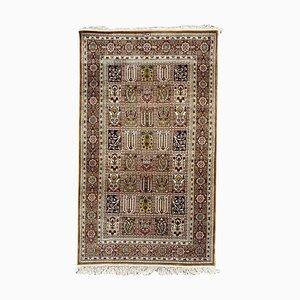 Vintage Hereke Stil Teppich aus edler Seide