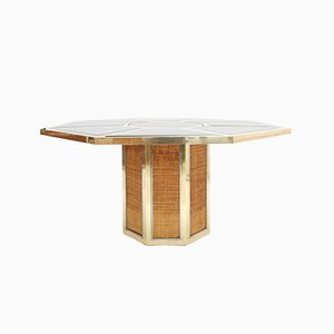 Italian Puzzle Table by Gabriela Crespi, 1980s