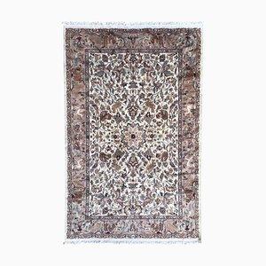 Vintage Pakistanischer Teppich aus Wolle & Seide
