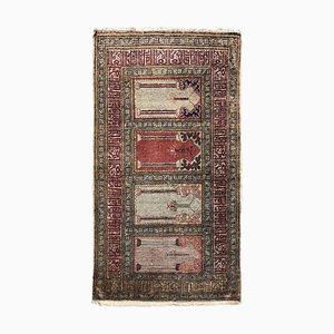 Türkischer Vintage Kayseri Seidenteppich