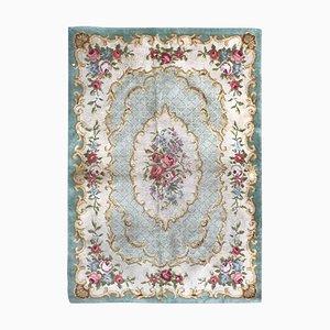 Vintage Aubusson Savonnerie Teppich