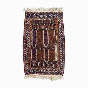 Kleiner afghanischer Vintage Baluch Teppich