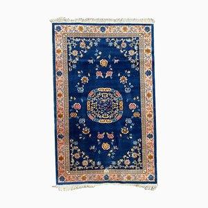 Vintage Hereke Teppich im chinesischen Design