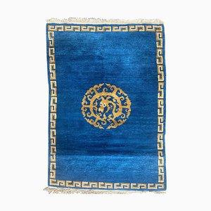 Nepalesischer Vintage Tibetischer Teppich