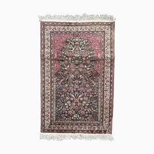 Vintage Silk Turkish Rug