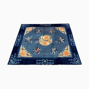 Antique Floral Chinese Rug