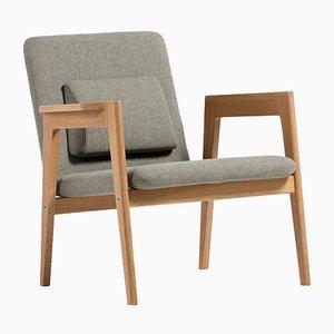 Light Gray Danish Armchair by Massana / Tremoleda for Mobles114