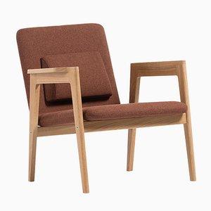 Dänischer Terrakotta Armlehnstuhl von Massana / Tremoleda für Mobles114
