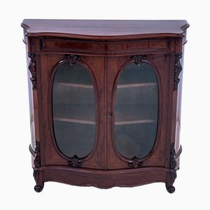 Antique Vitrine Cabinet, France, Late-19th Century