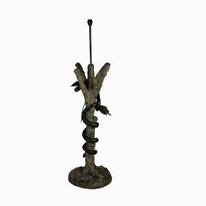 Antike Stehlampe