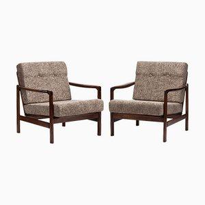 B-7522 Armlehnstühle, 1960er, 2er Set