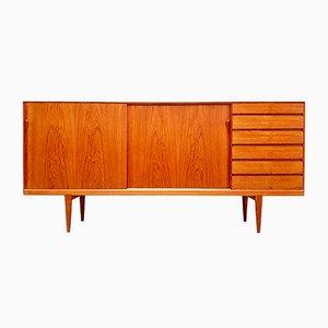Dänisches Vintage Sideboard aus Teak von Henry Rosengren Hansen für Brande Møbelfabrik, 1960er
