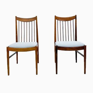 Rosewood Chairs by Arne Vodder from Sibast, Set of 4