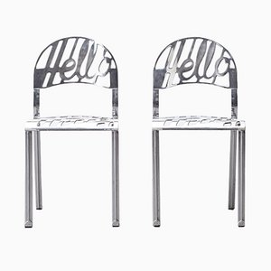 Hello There Chairs by Jeremy Harvey for Artifort, 1978, Set of 2