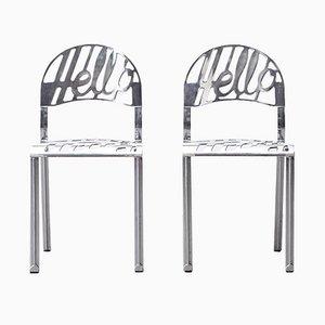 Hello There Stühle von Jeremy Harvey für Artifort, 1978, 2er Set