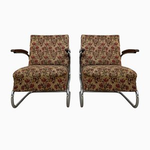 Model S 411 Armchairs, Set of 2