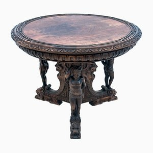 Geschnitzter Tisch, 1900er