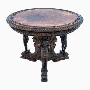 Mesa tallada, década de 1900